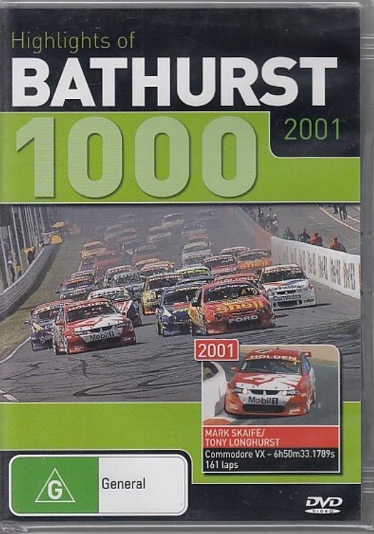 Highlights of Bathurst 1000 2001 DVD (9398710309690)