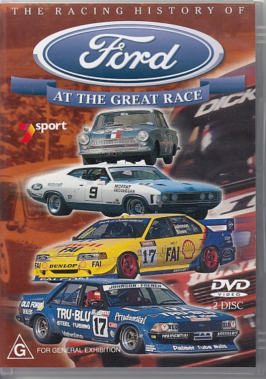 The Racing History of Ford - At The Great Race DVD (9398058360797)
