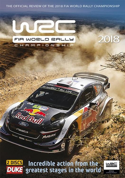 WRC FIA World Rally Championship 2018 DVD