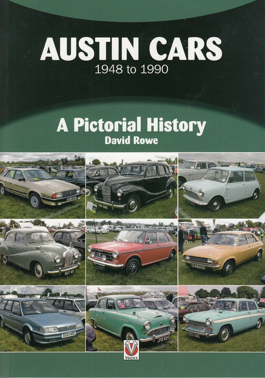 Austin Cars 1948 to 1990 A Pictorial History (9781787112193)
