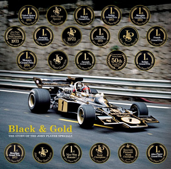 Black & Gold - The Story of the John Player Specials - Standard Edition (9781902351636)