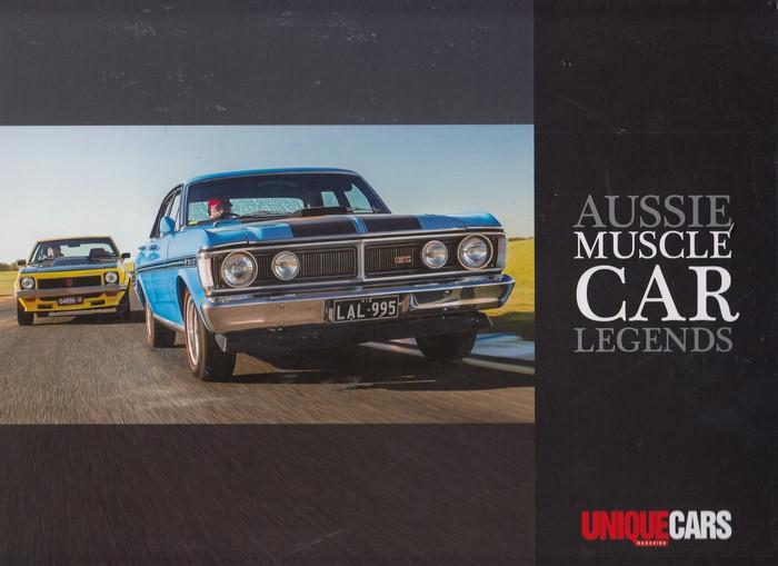 Aussie Muscle Car Legends (Unique Cars Magazine) (9781925695298)