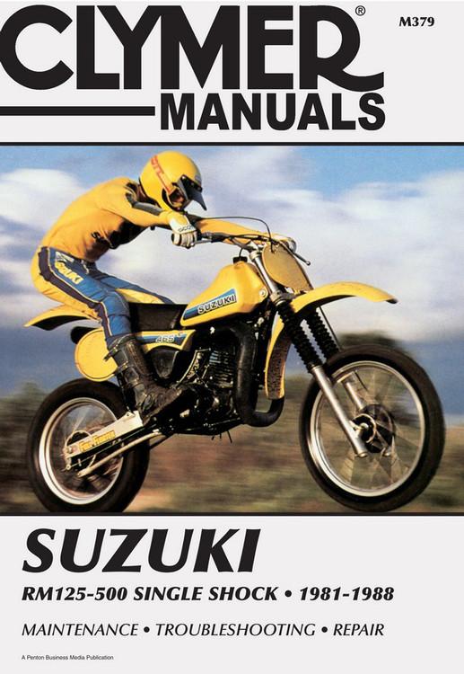 Suzuki Rm125  Rm250  Rm465  Rm500 Single Shock 1981