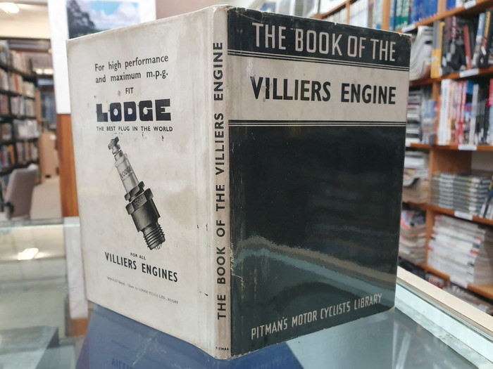 The Book of the Villiers Engine - Pitman's Motor Cyclists Library (hardcover, 1948)