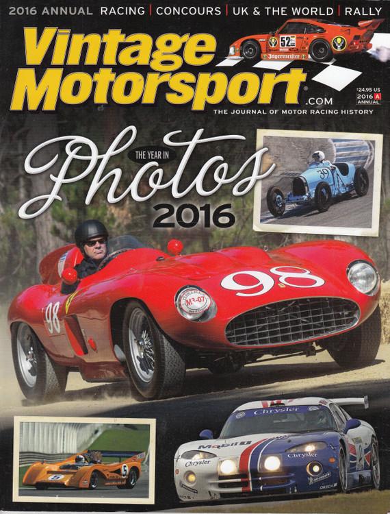 Vintage Motorsport 2016 Annual (VMSA2016)