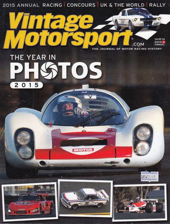 Vintage Motorsport 2015 Annual - The Year In Photos (VMSA2015)
