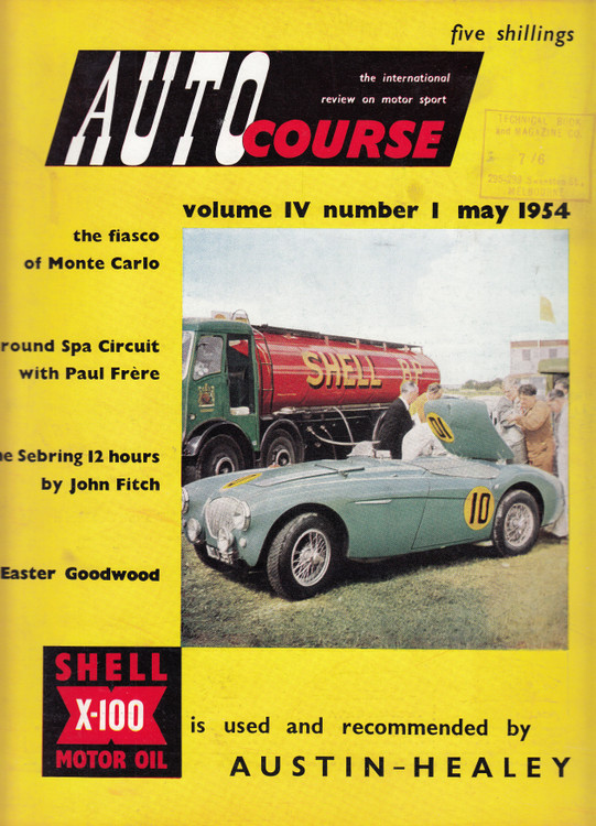Autocourse 1954 - Volume IV Number 1 May 1954 (Paperback ) (B013NAWJCA)