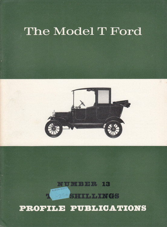 Car Profile Publications No 13 - The Model T Ford