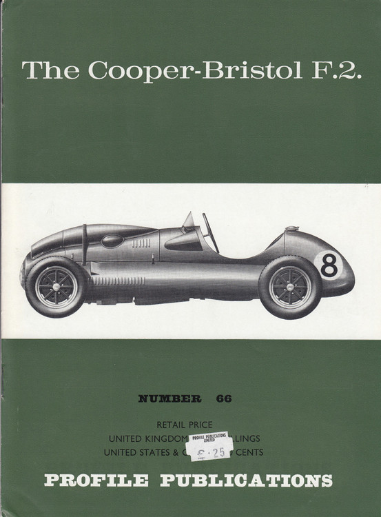 Car Profile Publications No 66 - The Cooper-Bristol F.2.