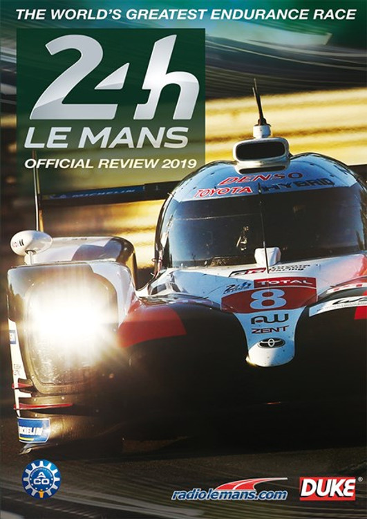 Le Mans 24 Hours 2019 Official Review DVD (5017559132996)