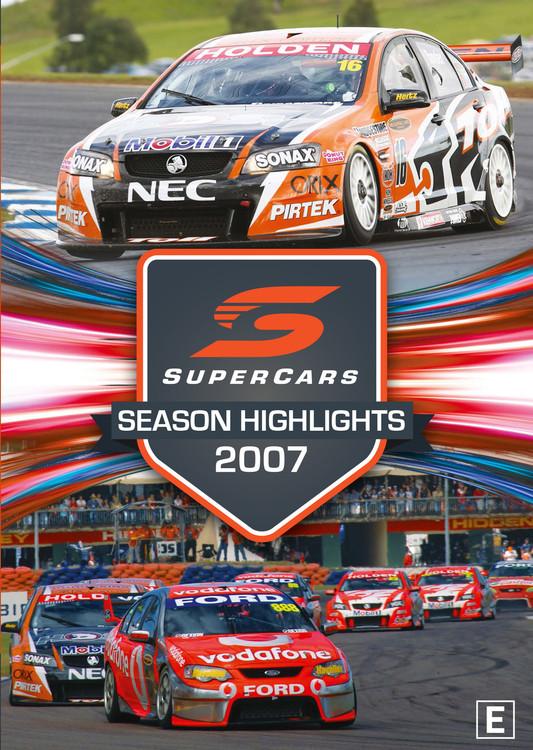 2007 Supercars Season Highlights DVD (9340601002579)