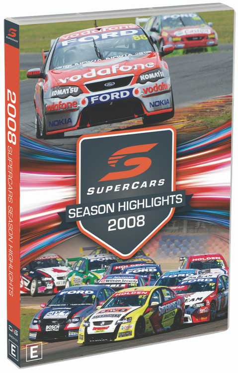 2008 Supercars Season Highlights DVD (9340601002586)