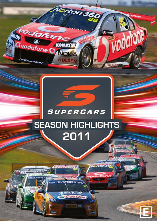 2011 Supercars Season Highlights DVD (9340601002616)
