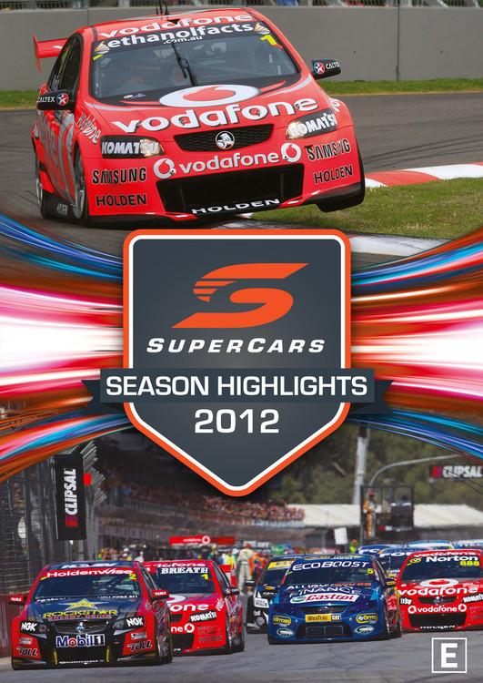 2012 Supercars Season Highlights DVD (9340601002623)