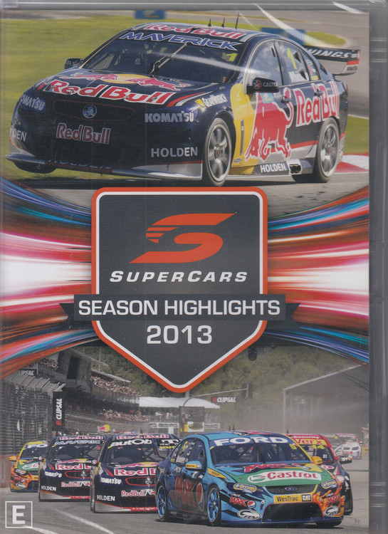 2013 Supercars Season Highlights DVD (9340601002630)