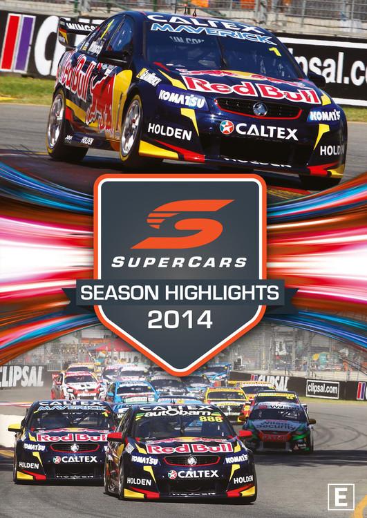 2014 Supercars Season Highlights DVD (9340601002647)