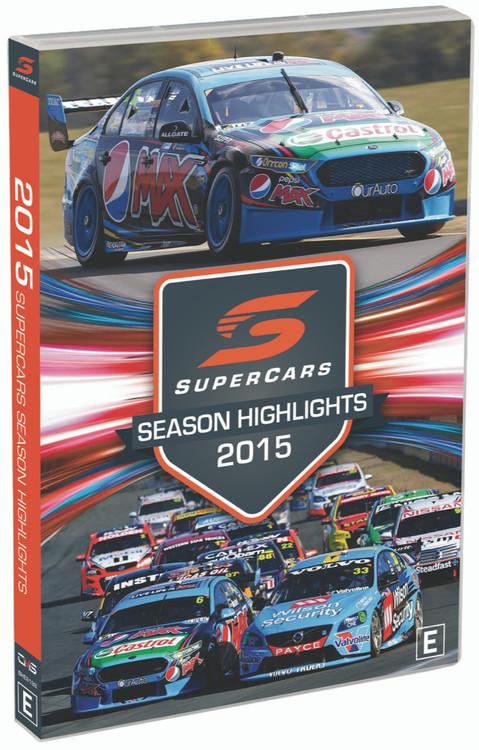 2015 Supercars Season Highlights DVD (9340601002654)
