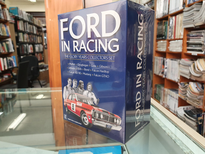 Ford In Racing - The Glory Years Collectors Set 6 DVD Box Set (2019 Reissue) (9340601002715)
