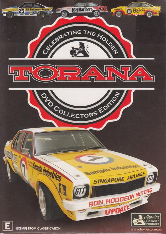 Torana - Celebrating The Holden Torana - Collecters Box DVD Set Reissue (9340601002722)