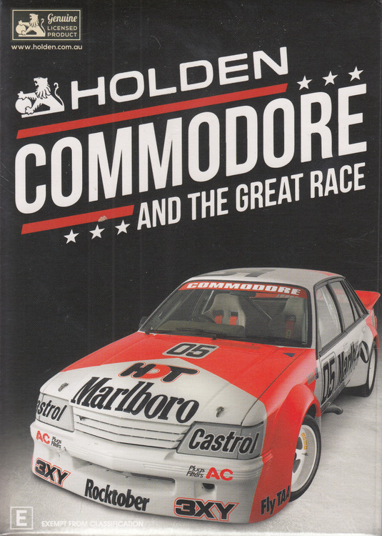 Holden Commodore And The Great Race Gift Set DVD - Reissue (9340601002739)