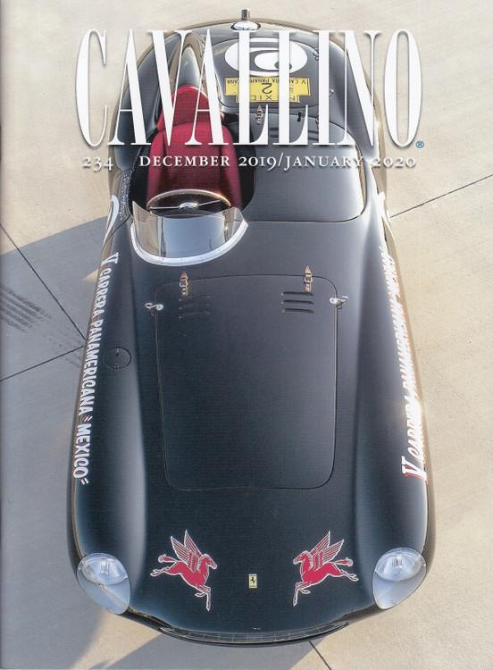 Cavallino The Journal Of Ferrari History Number 234 Dec 2019 / Jan 2020