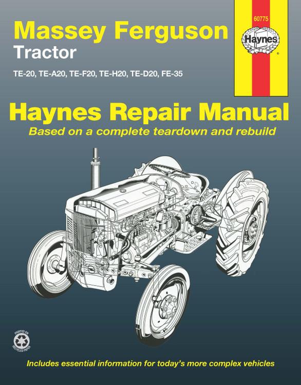 Massey Ferguson Tractor Haynes Repair Manual