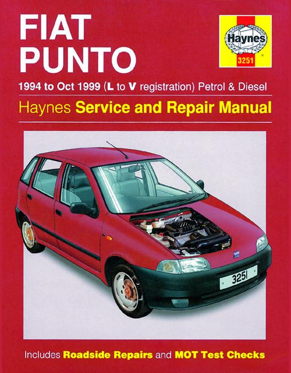Fiat Punto Petrol & Diesel (94 - Oct 99) Haynes Repair Manual