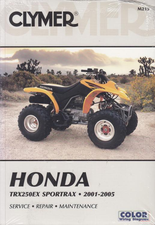 Honda TRX250EX Sportrax 2001-2005 Clymer Repair Manual (9780892879885)