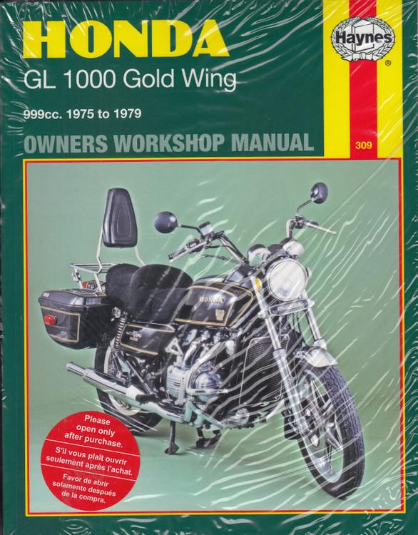 Honda Motorcycle GL1000 Gold Wing 1975 - 1979 Haynes Workshop Manual