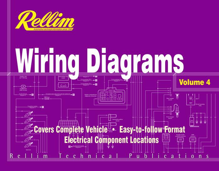 Rellim Wiring Diagrams volume 4 (RERW4, 9781876953348)