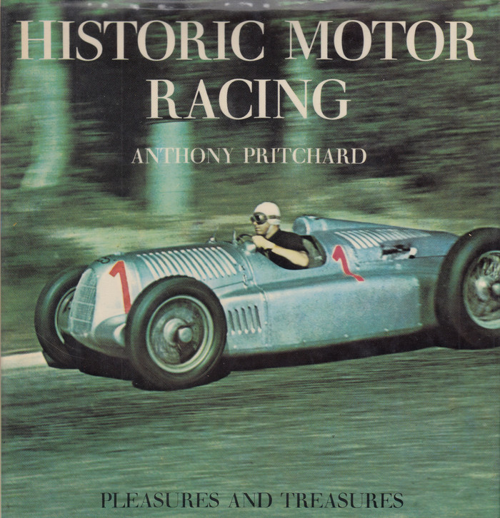 Historic Motor Racing (Anthony Pritchard, Hardcover, 1969)