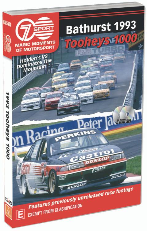 1993 Tooheys Bathurst 1000 - Holden's V8 Dominates The Mountain DVD (9340601002869)