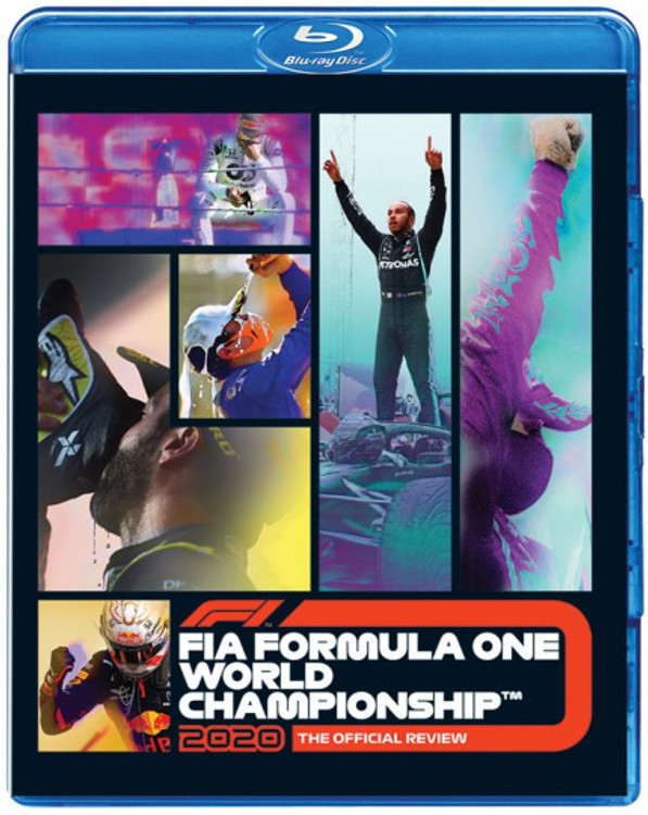 Formula One 2020 Official Review - F1 Blu-ray (5017559134051)