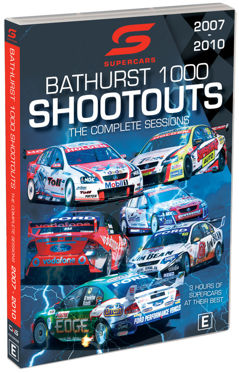 Supercars Bathurst Shoot Outs The Complete Sessions 2007 to 2010 DVD (9340601002883)