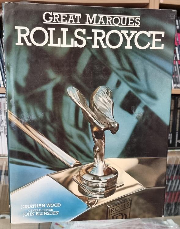 Great Marques Rolls Royce By Jonatnan Wood