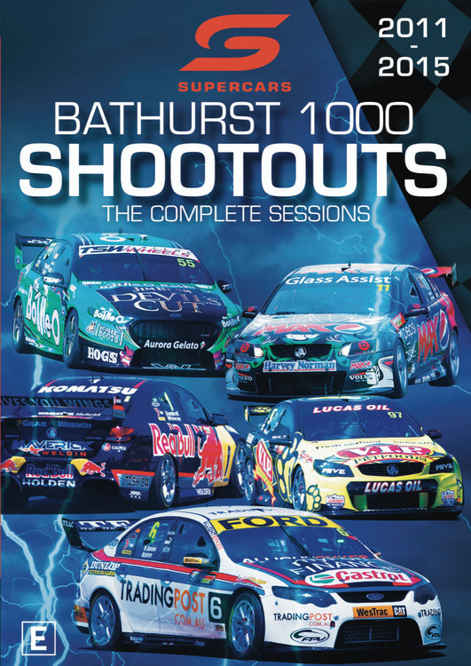 Supercars Bathurst 1000 Shoot Outs The Complete Sessions 2011 to 2015 DVD