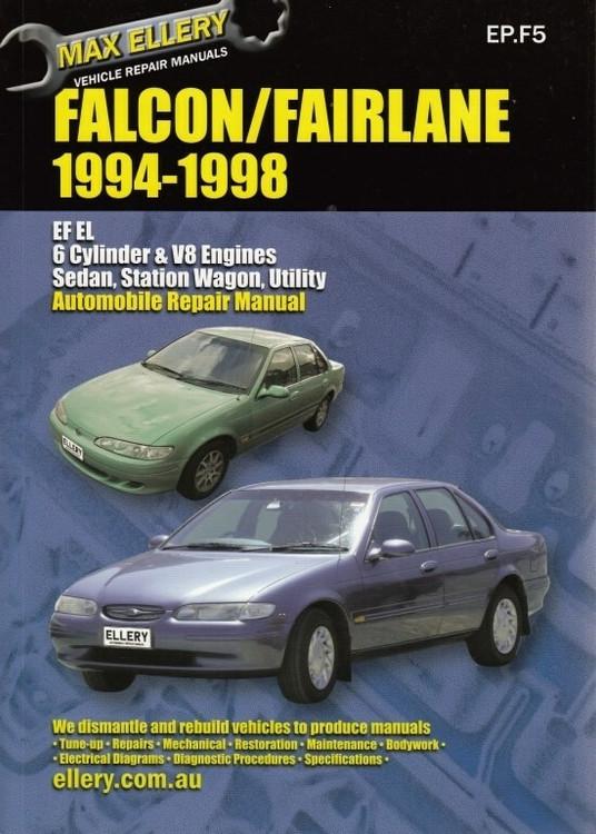 Ford Falcon / Fairlane EF, EL, NF, NL 1994 - 1998 Repair Manual