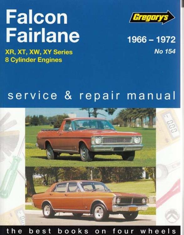 Ford Falcon Fairlane 1966 - 1972 Workshop Manual