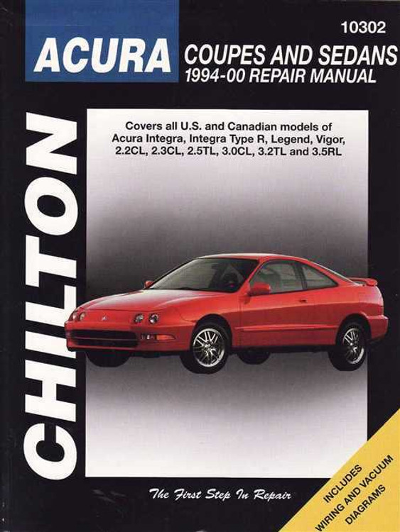 Honda (Acura) 1994 - 2000 Workshop Manual