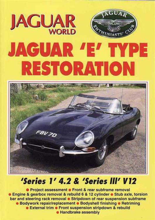 Jaguar E Type Restoration - Series 1, 4.2 & Series 3, V12