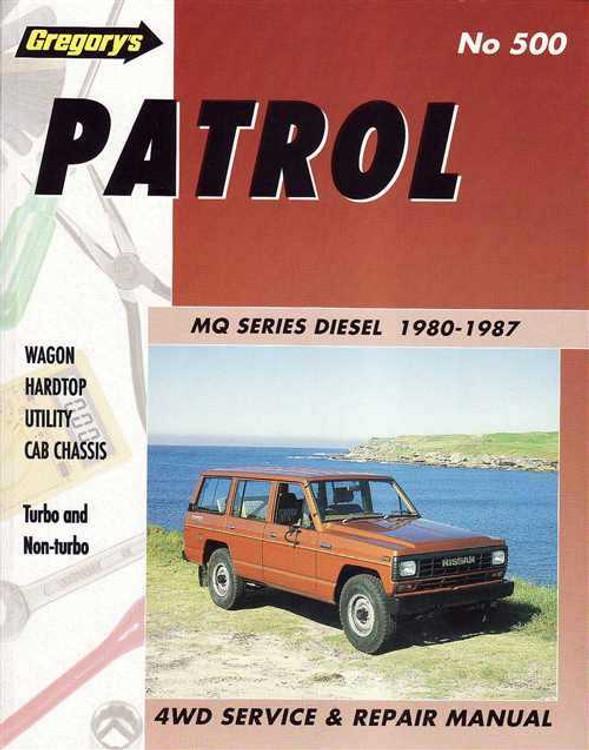 Nissan Patrol MQ Series 1980 - 1987 Workshop Manual