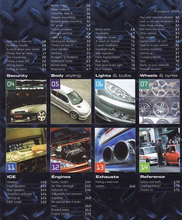 Peugeot 206 The Definitive Guide To Modifying (Haynes Max Power)