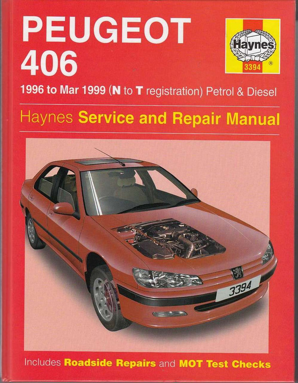 Peugeot 406 Workshop Manual