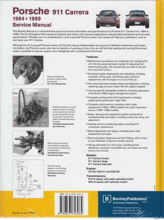 Motors Other Car Manuals research.unir.net SHOP MANUAL 911 SERVICE ...