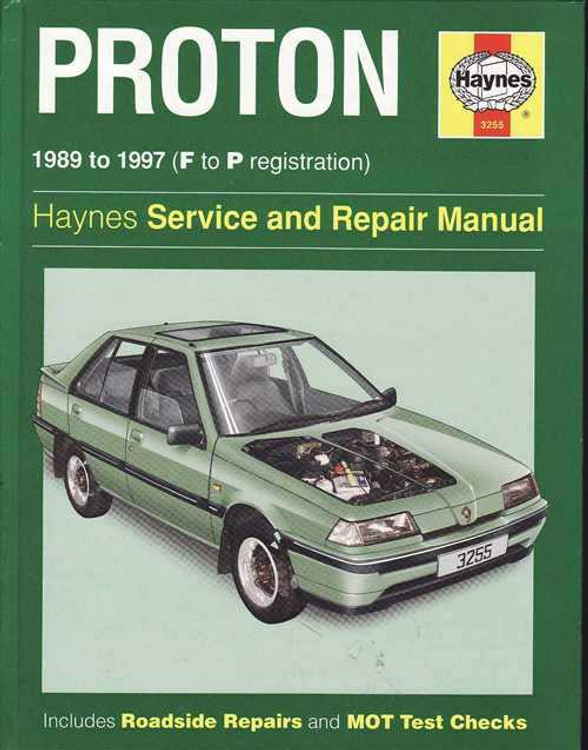 Proton 1989 - 1997 Workshop Manual