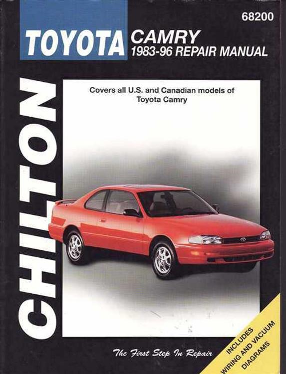SHOP MANUAL CAMRY SERVICE REPAIR 1989 TOYOTA BOOK HAYNES CHILTON
