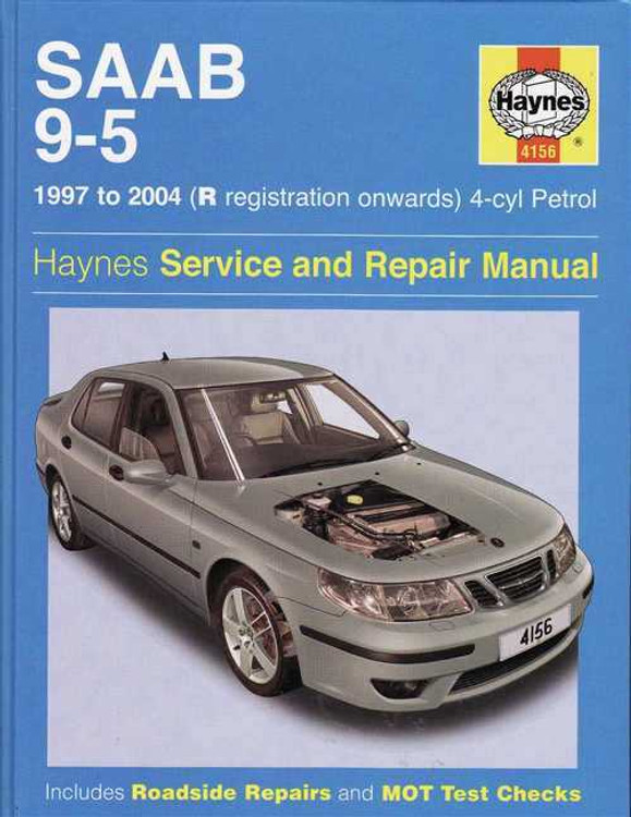 Saab 9 - 5 1997 - 2004 Workshop Manual