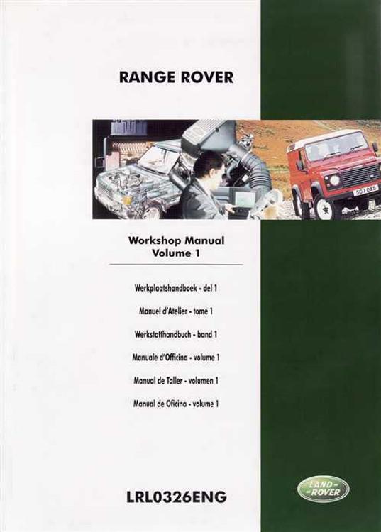 Range Rover 1995 - 1999 Workshop Manual (3 Volumes)