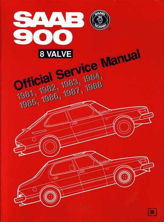 Saab 900 8 Valve 1981 - 1988 Workshop Manual