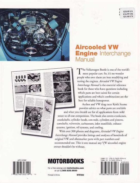 Aircooled VW Engine Interchange Manual